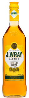 J. Wray Rum Gold 750ml
